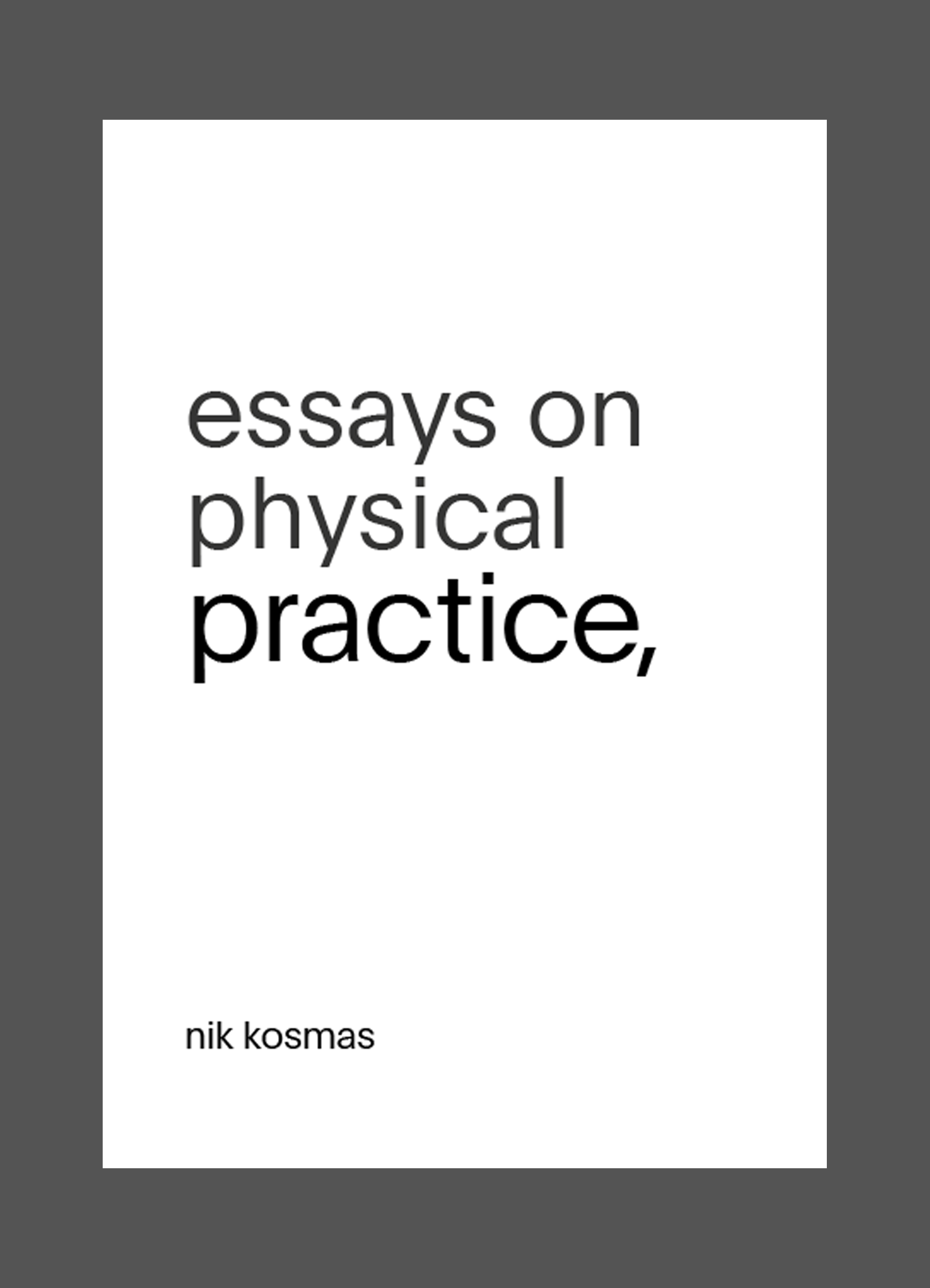 physics practical essay The physics subject test assesses your understanding of concepts from one year of introductory physics on the college-preparatory level, as well as reasoning and problem-solving skills derived from.